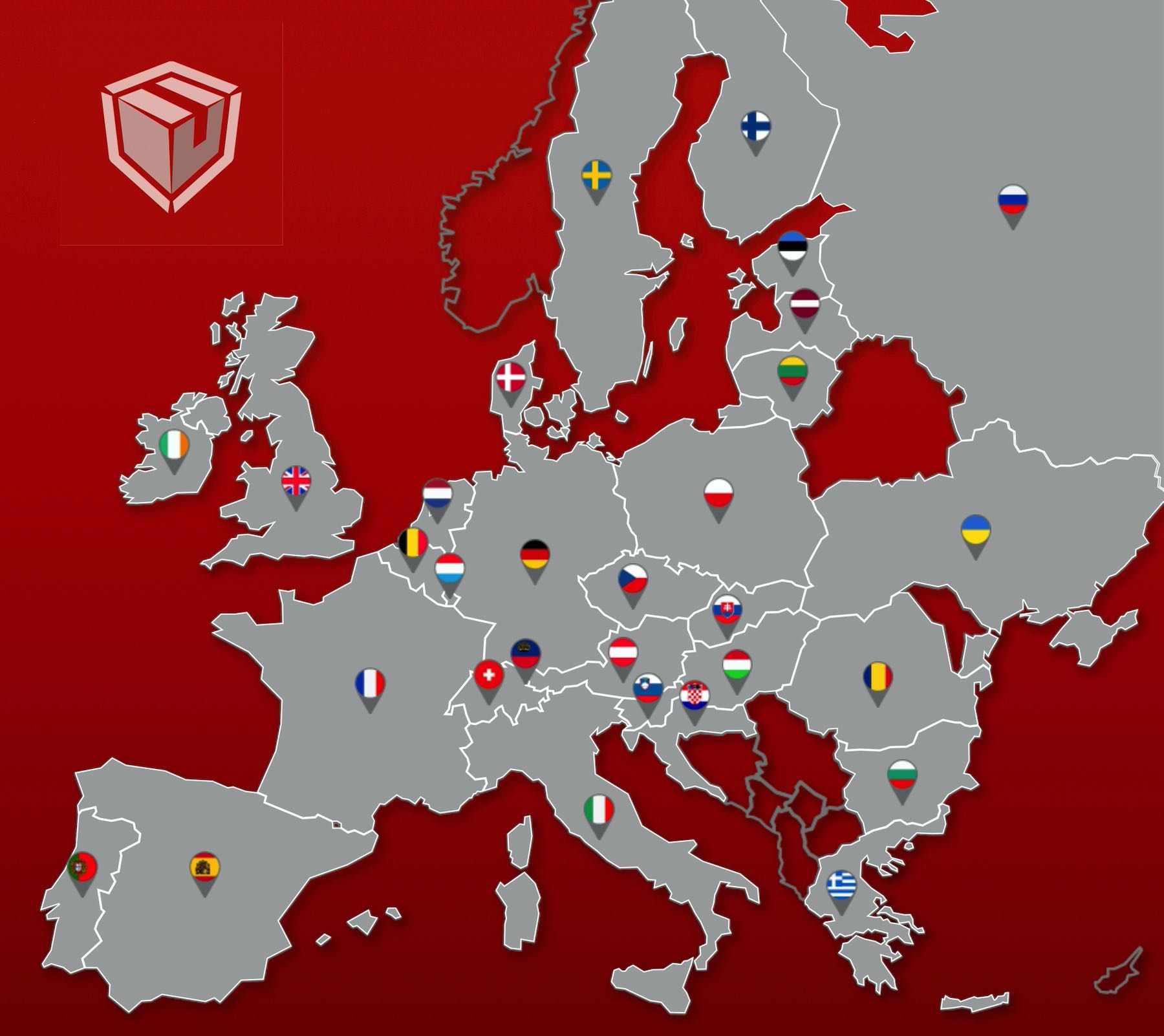 EU delivery map